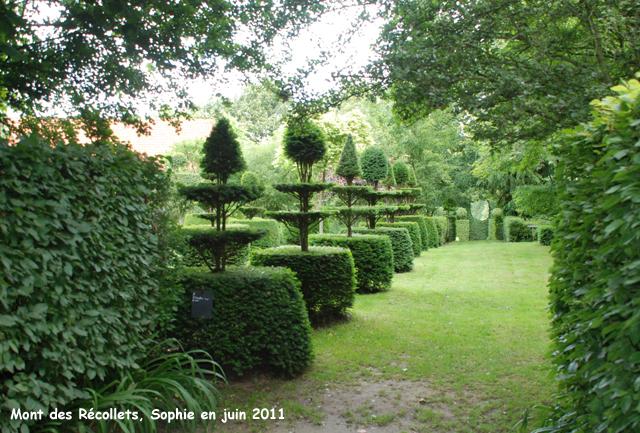 Le jardin du mont des r collets - Les jardins des monts d or ...